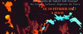 Soirée musicale algéro-tunisienne à l'occasion de la commémoration des événements de Sakiet Sidi Youssef au CCA
