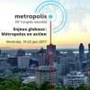 Participation d'Alger au 12è Congrès mondial Metropolis à Montréal