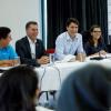 Rayene Bouzitoun, 18 ans, conseillère chez Trudeau et prise de parole à l'ONU