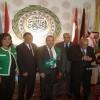 Ligue arabe: l'Algérien Ismail Medjahed décoré de la médaille du «jeune modèle»