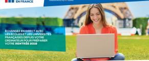 2ème édition du salon en ligne des études en France le 07 et 08 décembre 2017 en Algérie