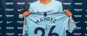 Riyad Mahrez signe à Manchester City