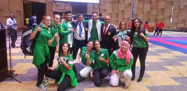 Championnats d'Afrique de karaté-do: l'Algérie termine à la deuxième place