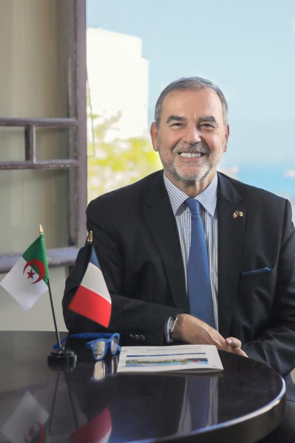 Election du nouveau Président de la Chambre de Commerce et d'Industrie Algéro-Française, CCIAF