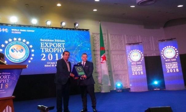 Le trophée du meilleur exportateur algérien en 2018 attribué à Condor