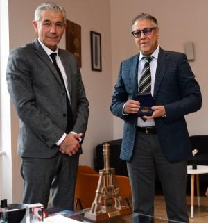 LE CREUSOT : David Marti a reçu Abdelatif Maayouf, consul général d'Algérie