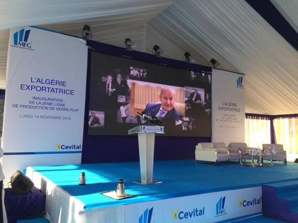 Cevital inaugure  la première usine de verre plat d'Afrique et la première usine exportatrice !