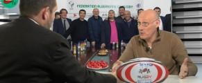 Bernard Laporte rêve d'un Algérie vs Nouvelle Zélande à Marseille